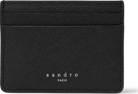 Sandro Saffiano Leather Cardholder