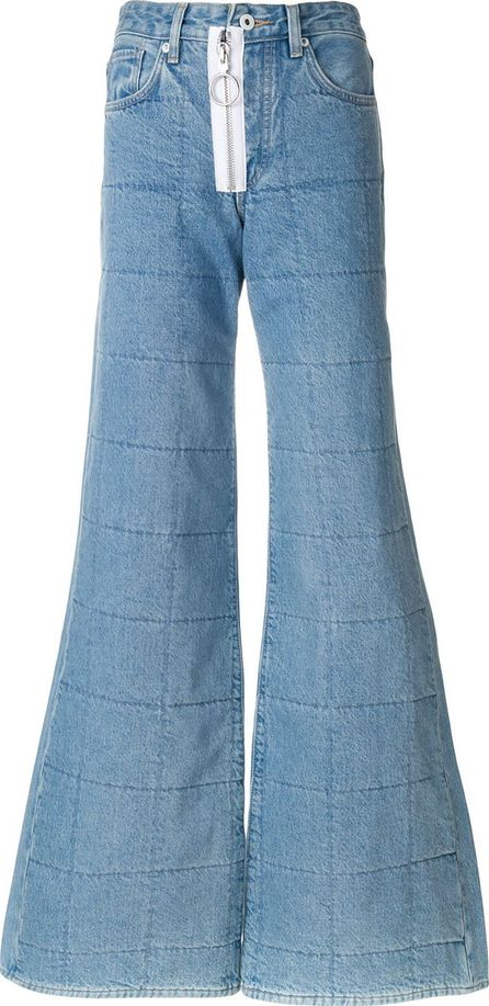 Off White flared jeans