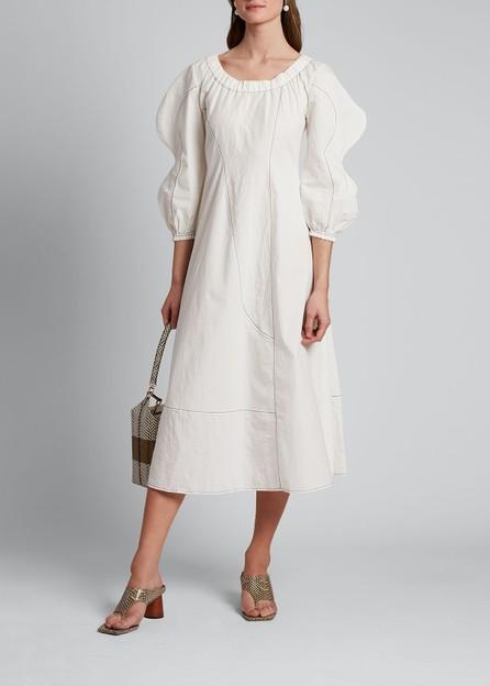 Rejina Pyo Aida Puff-Sleeve Dress