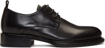 Ann Demeulemeester Black Leather Derbys