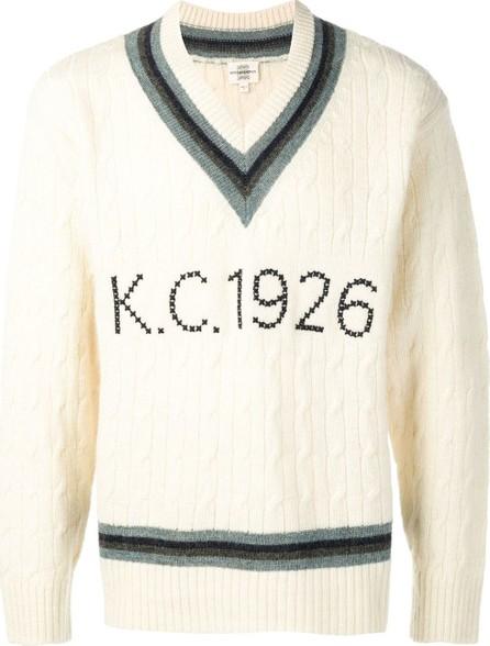 Kent and Curwen Cross stitch cricket sweater