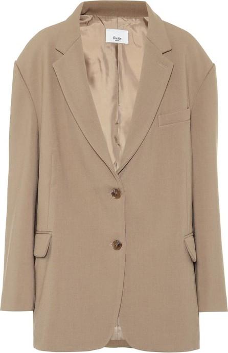 Frankie Shop Bea stretch-twill blazer