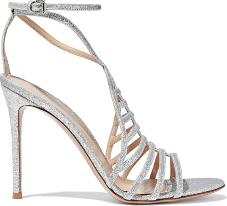 Gianvito Rossi Glittered leather sandals