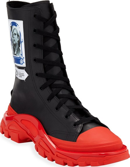 Adidas By Raf Simons Men's RS Detroit High Boot Sneakers