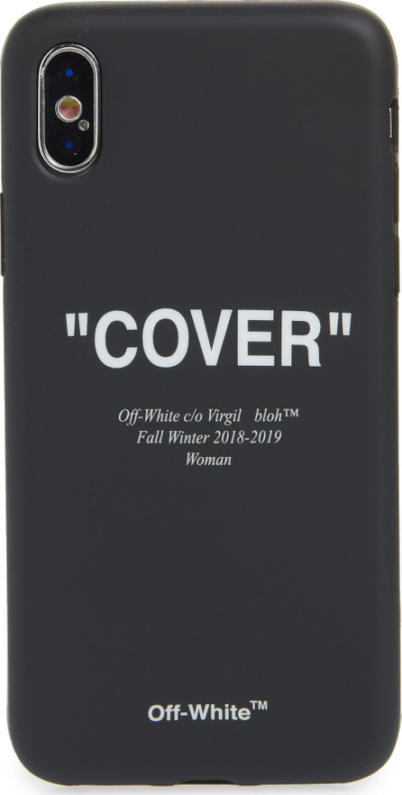 Off White Quotes iPhone X Case