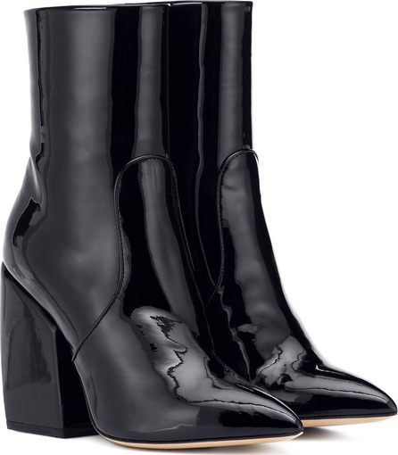 Petar Petrov Solar patent leather ankle boots