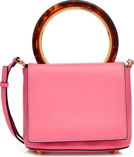 Marni Pannier Leather Shoulder Bag