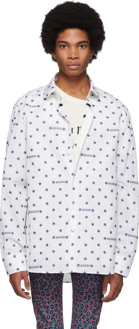 Gucci Off-White Star Fil Coupé Shirt