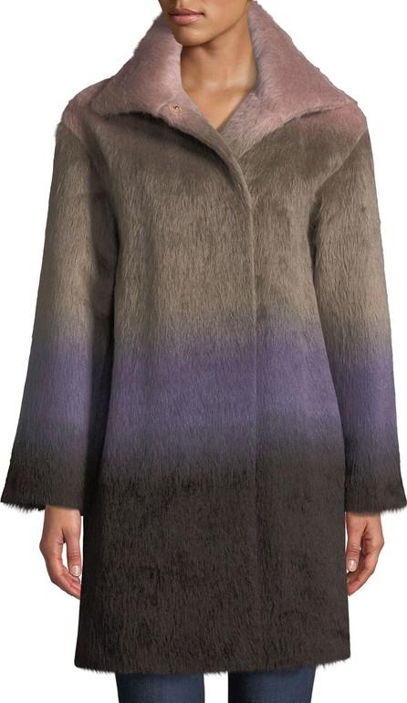 Agnona Ombre Alpaca Coat