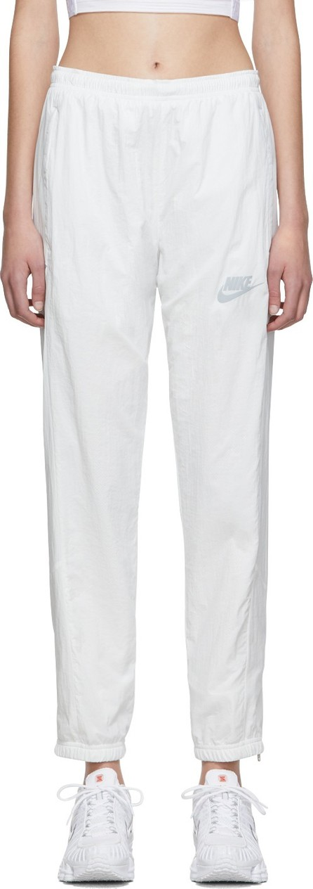 Nike White NSW Re-Issue Lounge Pants