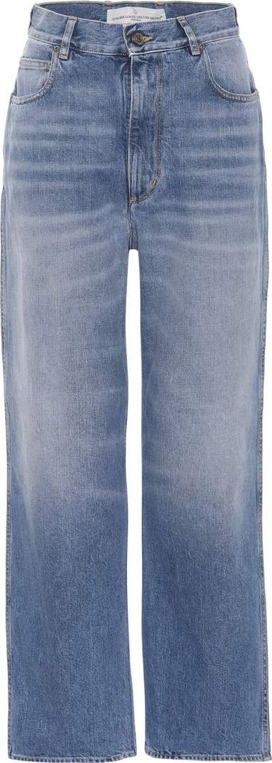 Golden Goose Deluxe Brand Kim cropped wide-leg jeans