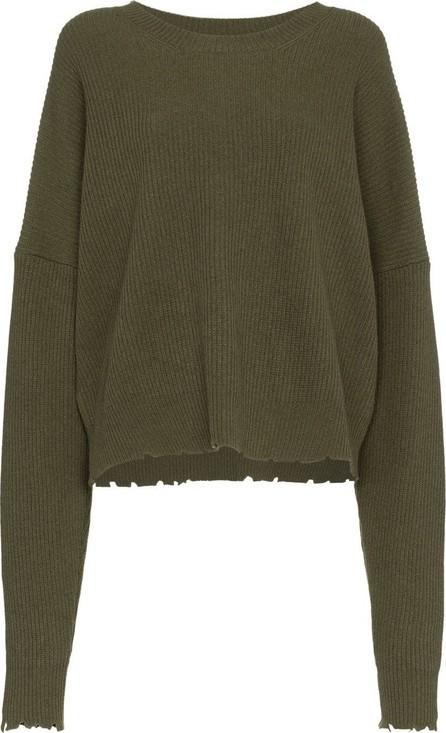 Ben Taverniti Unravel Project Frayed rib knit jumper