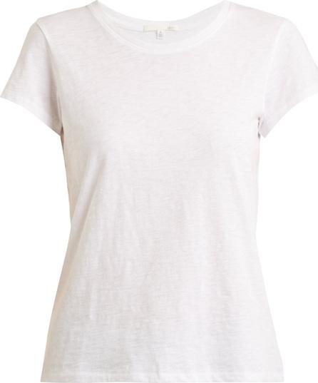 SKIN Round-neck cotton-jersey pyjama top