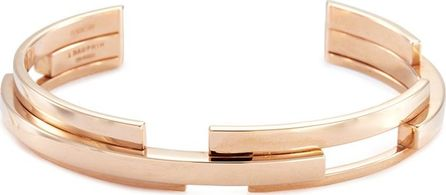 Dauphin 'Volume' 18k rose gold three tier cuff