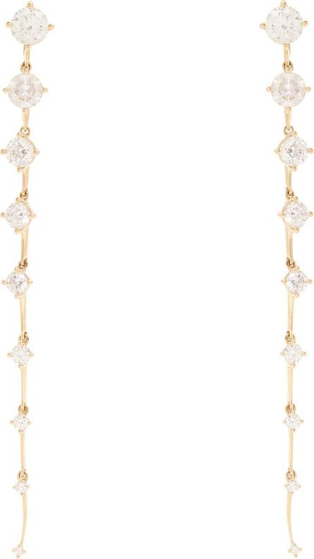Fernando Jorge Diamond & yellow-gold Sequence earrings