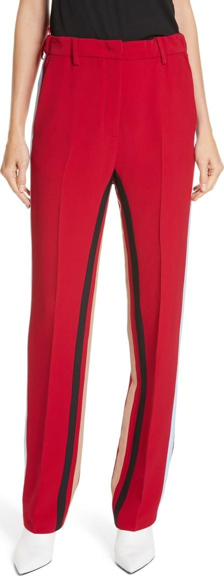 N°21 Nº21 Side Stripe Straight Leg Pants