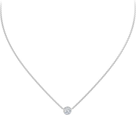 Forevermark 18K White Gold Diamond Pendant Necklace