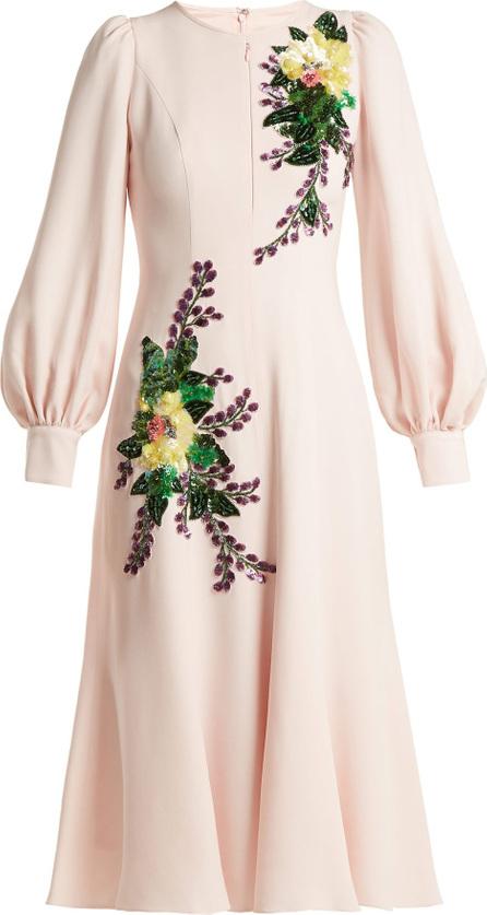 Andrew Gn Sequin-embellished crepe midi-dress