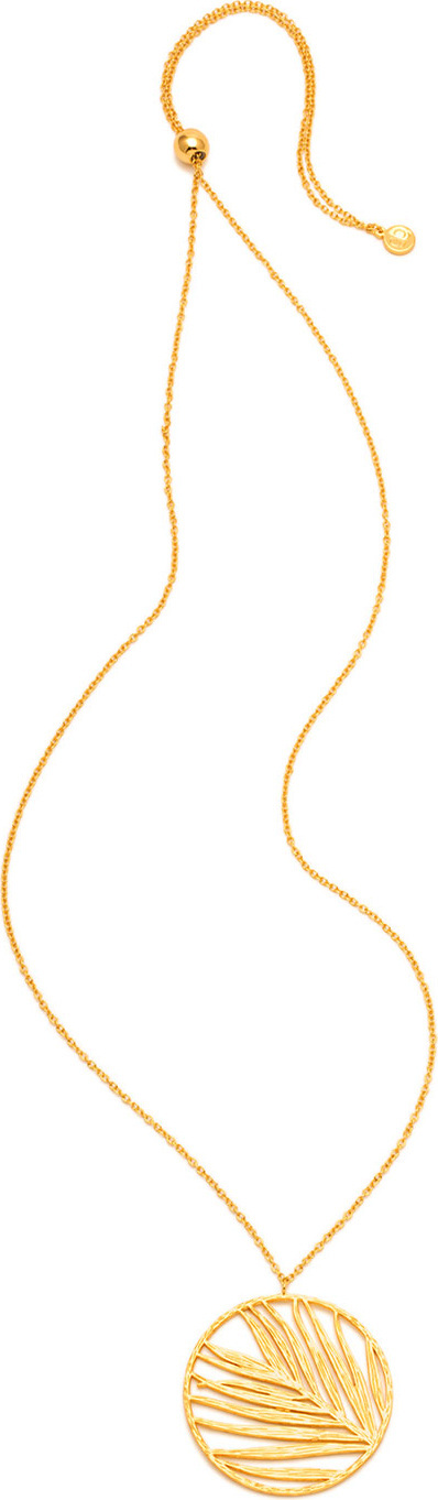 Gorjana Adjustable Palm Pendant Necklace