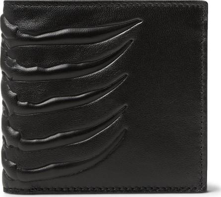 Alexander McQueen Embossed Leather Billfold Wallet