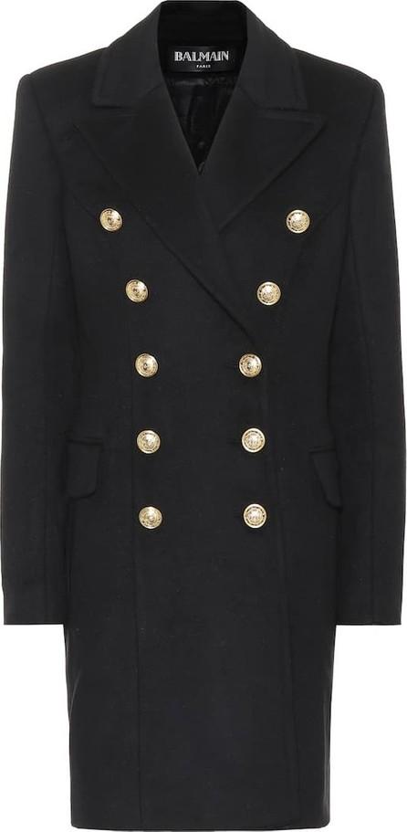 Balmain Wool and cashmere coat