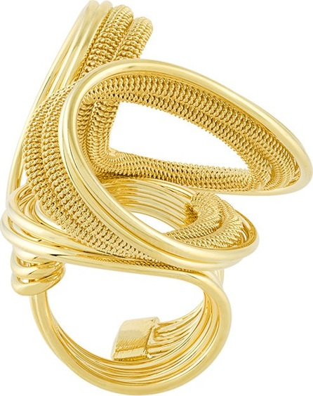 Francesco Barbato chain strand ring
