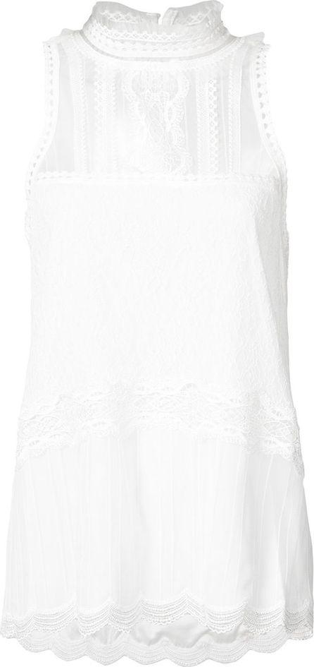 Jonathan Simkhai sleeveless lace blouse