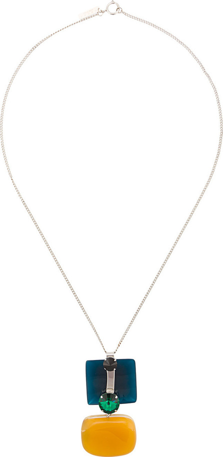 Marni Square pendant necklace