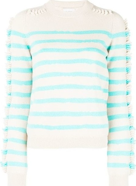 Barrie Crewneck Striped Sweater