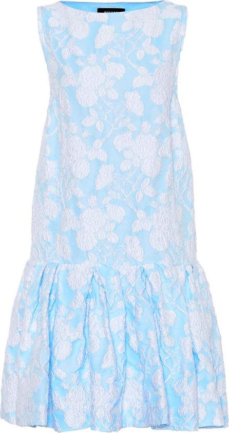 ROCHAS Floral jacquard dress
