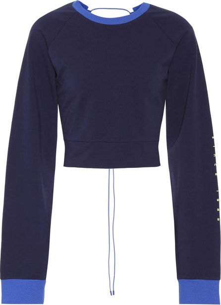 FENTY PUMA by Rihanna Lace-up cotton sweatshirt