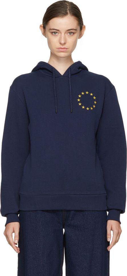 Etudes Navy Étoile Europa Hoodie