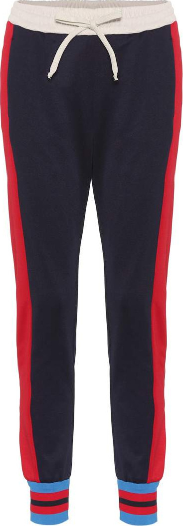 Gucci Striped cotton-blend trackpants