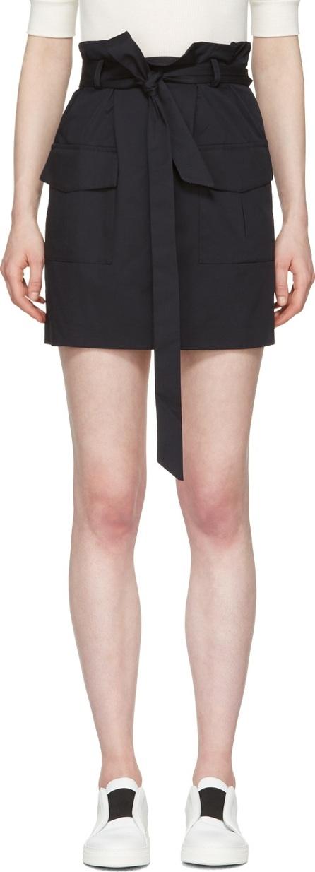 Harmony Navy Jacynthe Miniskirt