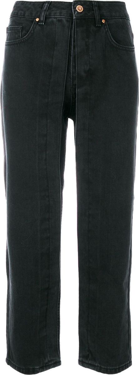 Aalto cropped flare jeans