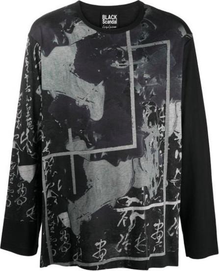 Yohji Yamamoto Abstract print T-shirt
