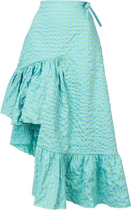 Marques'Almeida Long asymmetric frill skirt