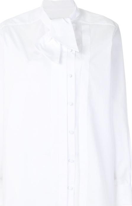 Valentino Oversized pussy bow blouse