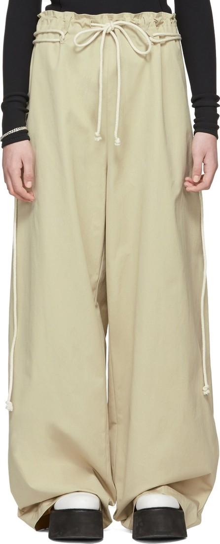 Ambush Beige Drawstring Trousers