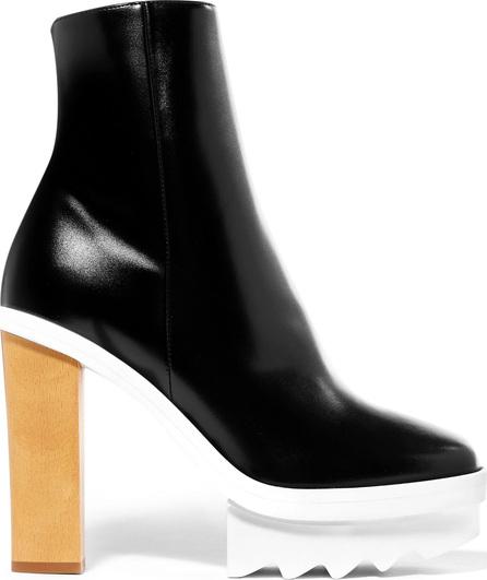 Stella McCartney Faux leather platform ankle boots