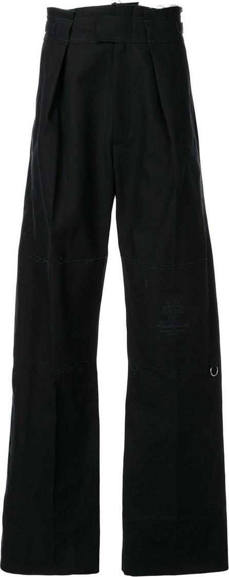 Raf Simons Wide-leg high-waisted trousers