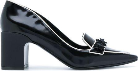 Fabrizio Viti daisy-appliquéd city loafers