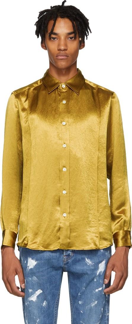 Goodfight Yellow Silk Proper Shirt
