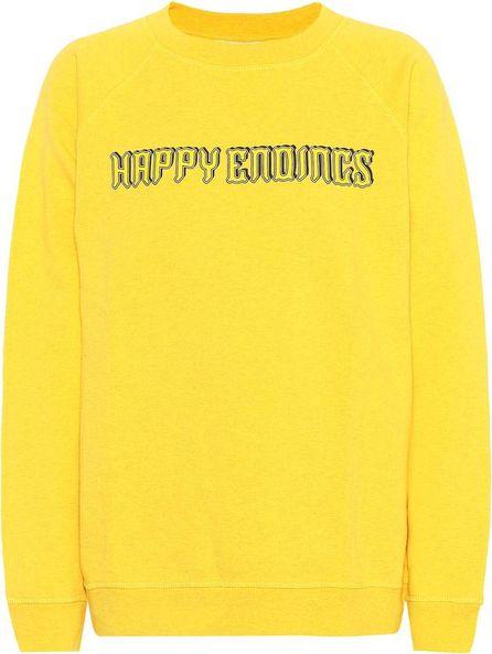 Ganni Lott Isoli printed cotton sweatshirt