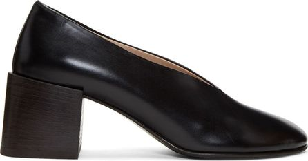 Acne Studios Black Sully Deconstructed Heels