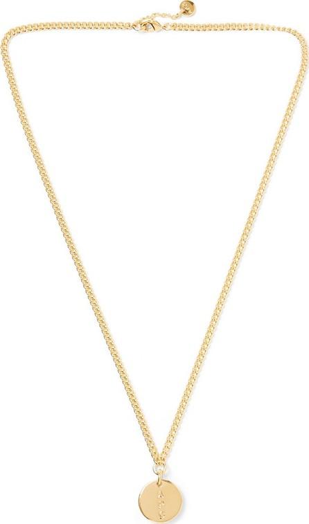 A.P.C. Casey Logo-Engraved Gold-Tone Necklace