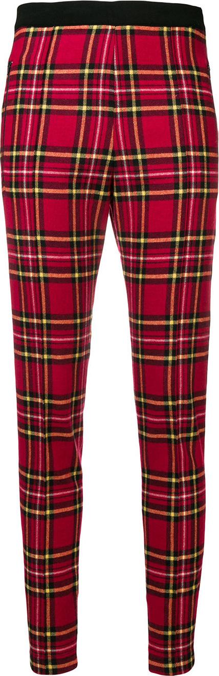 Ermanno Scervino Tartan skinny trousers