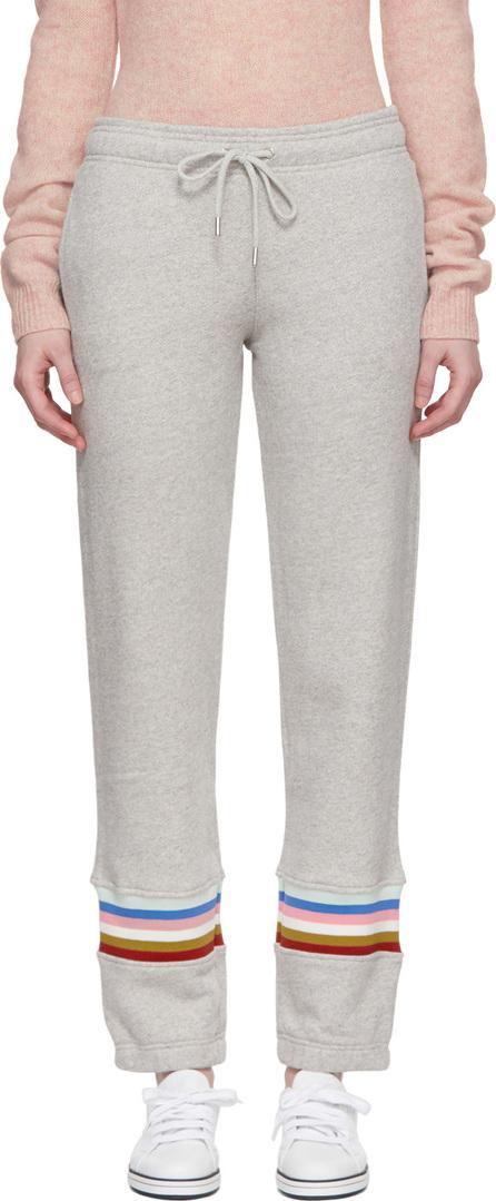 Alexachung Grey Rib Inset Lounge Pants