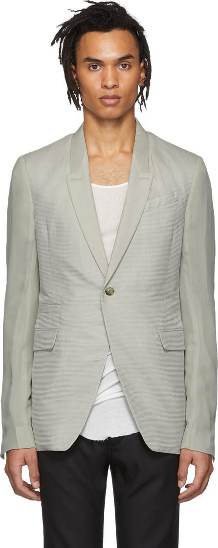 Rick Owens Grey Soft Blazer