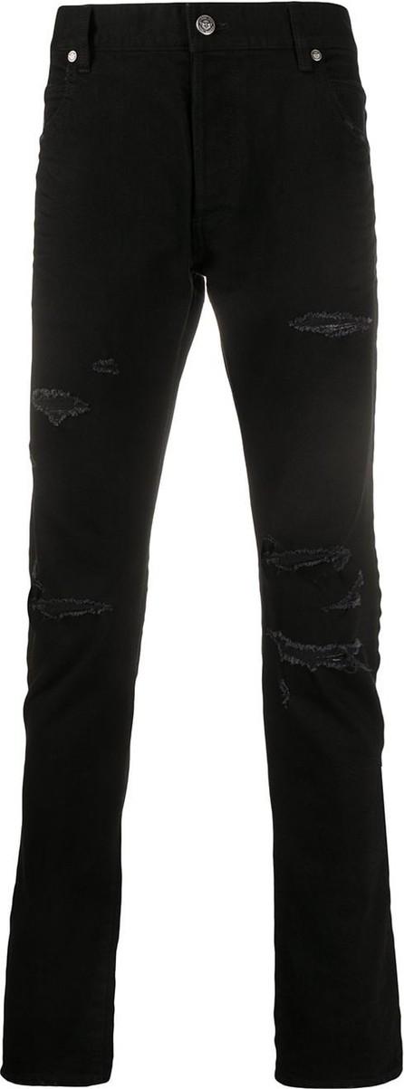Balmain Ripped detailing slim-fit jeans